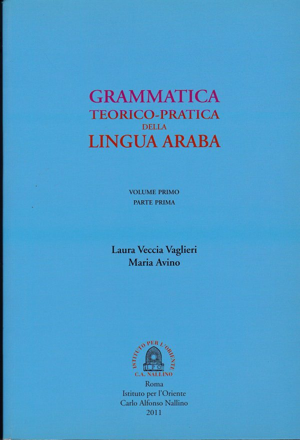 grammatica araba veccia vaglieri