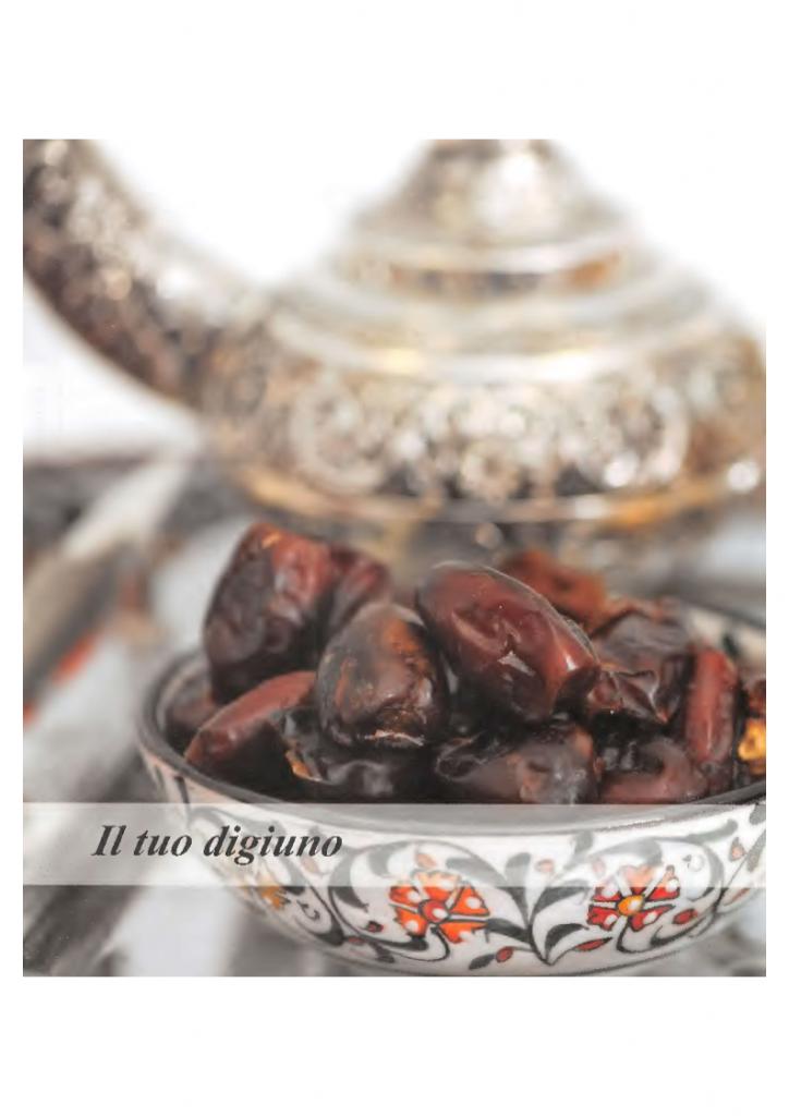 digiuno di ramadan