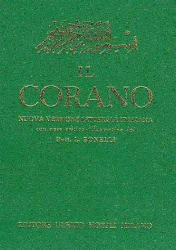 Corano edizione letterale Bonelli