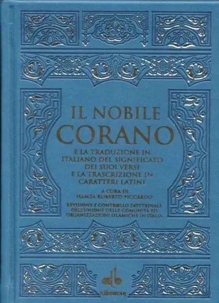 Corano Hamza Roberto Piccardo con traslitterazione